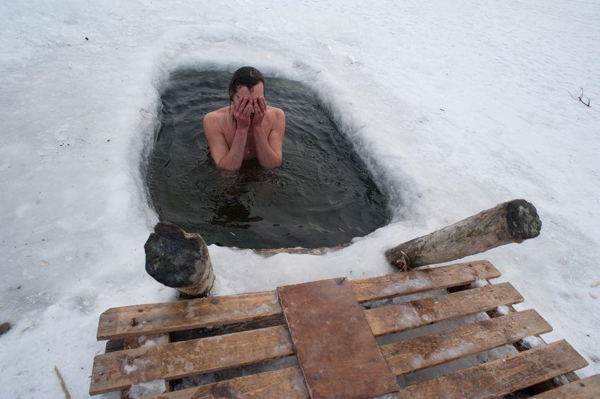 Vinterbad - illustration av att uppvärmningen av spabadet inte fungerar som det ska